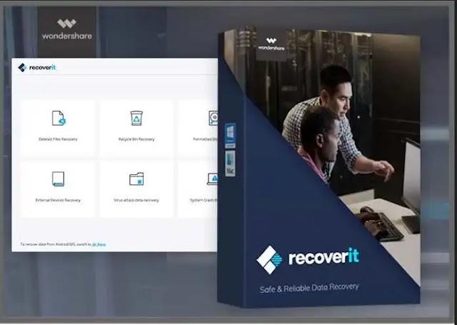 برنامج Recoverit Wondershare لاصلاح الفيديوهات التالفة MOV - MP4 - M2TS