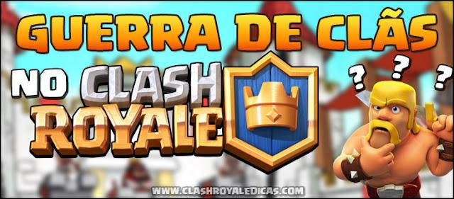 Guerra de Clãs em Clash Royale?! - Suposto vazamento! - 1