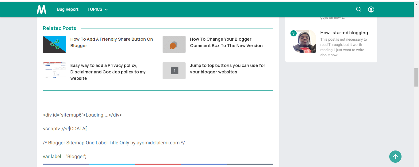 How to install multiple related post into your blogger posts