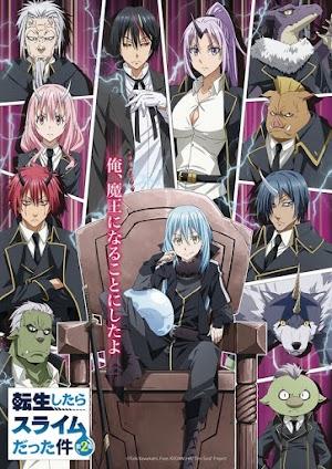 تقرير انمي Tensei shitara Slime Datta Ken 2 (الموسم الثاني)