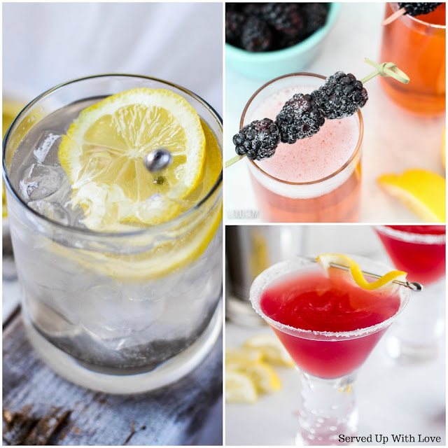 14 Lemon Cocktail recipes from Served Up With Love