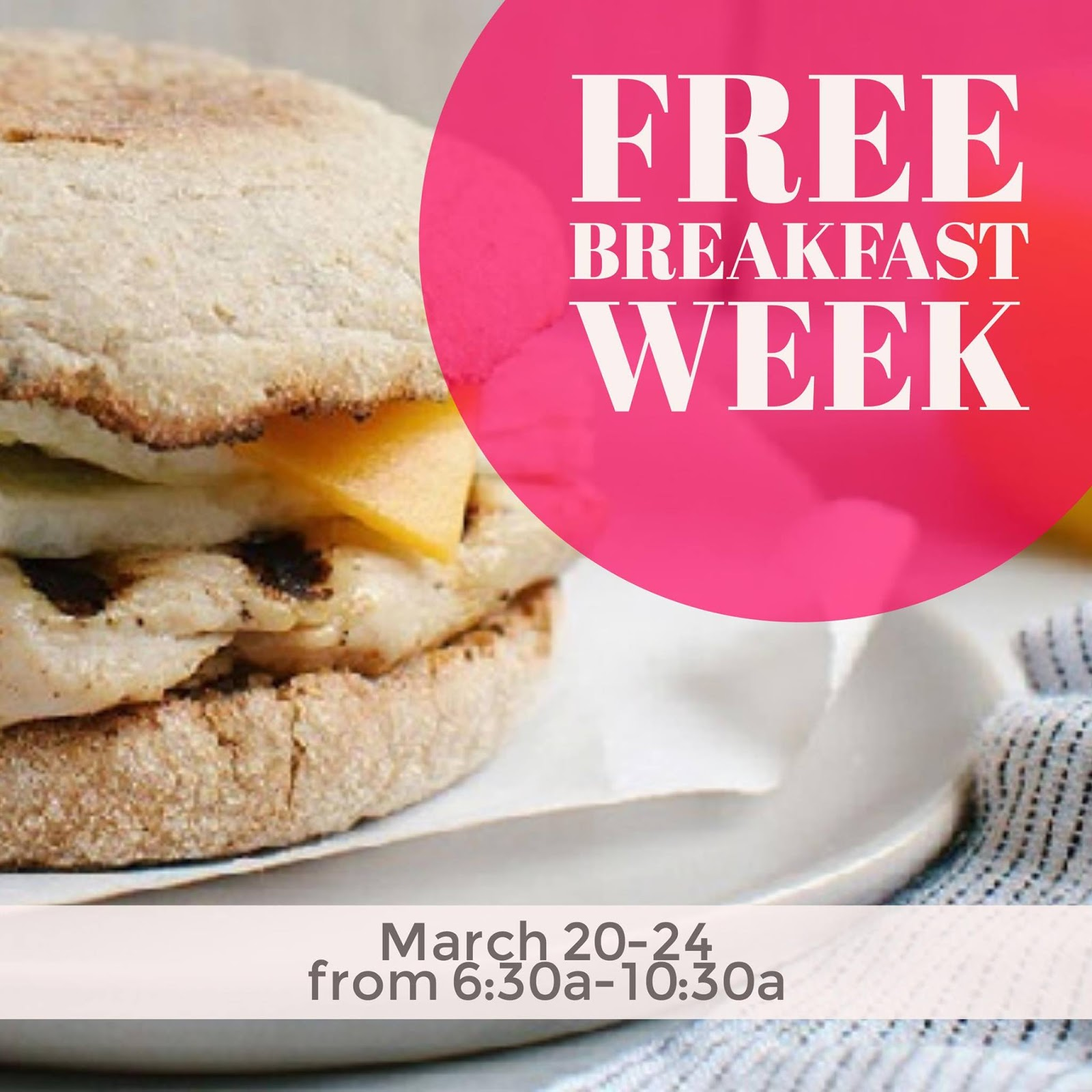 March 20 - 24 | Stop By Chick-fil-A for Free Breakfast in Los Angeles