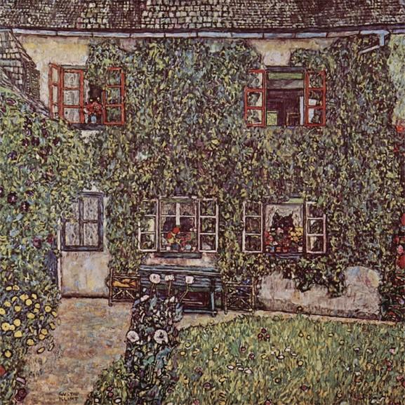 Klimt Forester's House in Weissenbach II, 1914