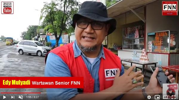 Edy Mulyadi Dipanggil Polisi Buntut Investigasi KM50, Eks Jubir Gus Dur: PWI Harus Kawal!