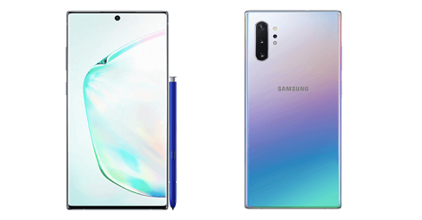 Samsung Note 10 dan Samsung Note 10 Plus