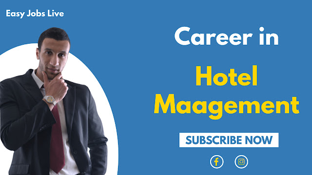 Career In Hotel Management In India