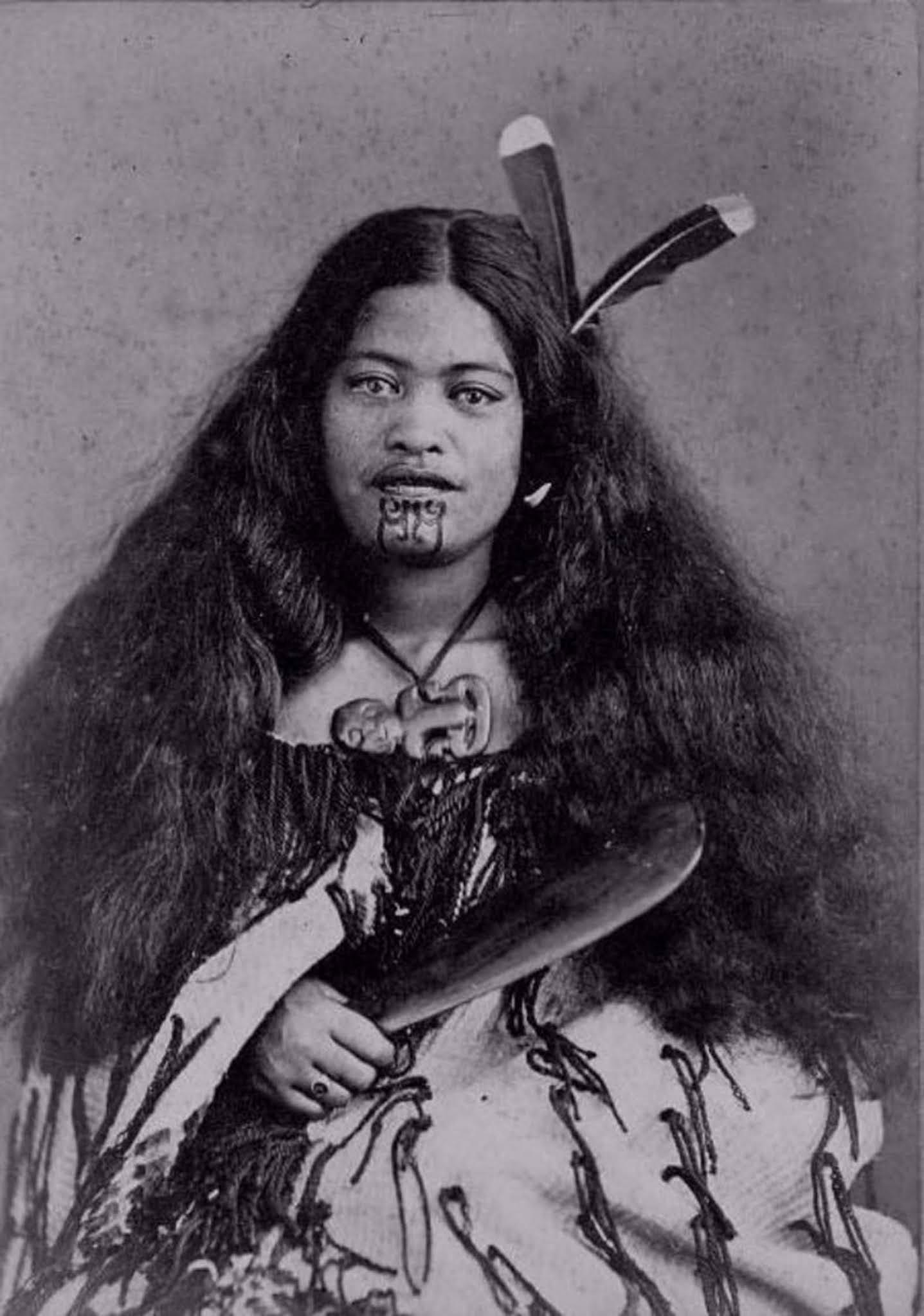 maori women ta moko tattoo