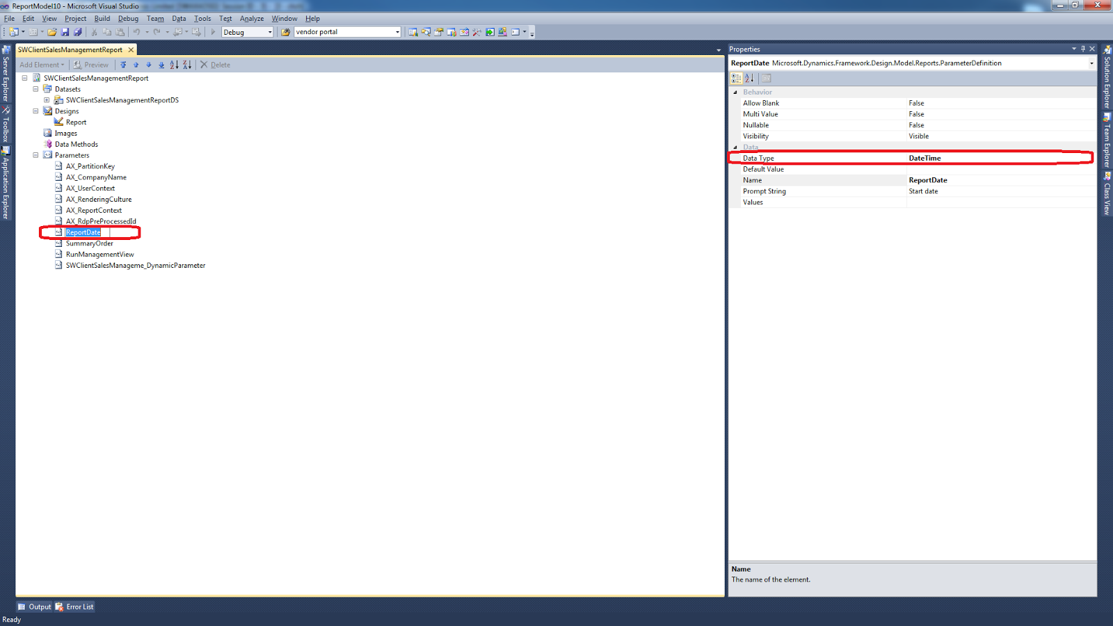 Format a date in SSRS report - Finance and Operations Community