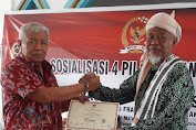 TGH Ma'arif Dukung Hj Selly di Pilwali Mataram 2020