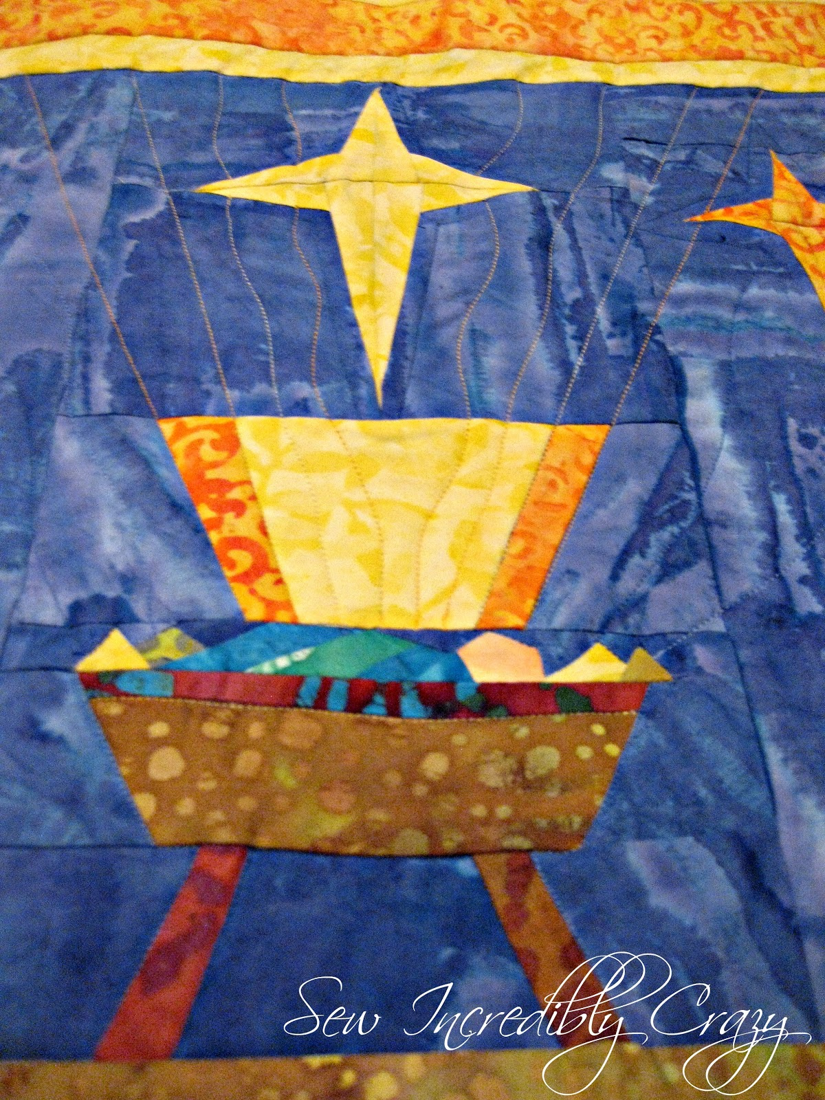 Sew Incredibly Crazy Paper Pieced Nativity