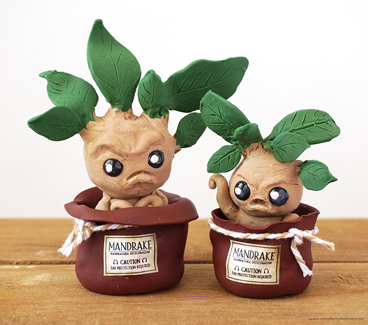 Harry Potter Mandrakes in Pots