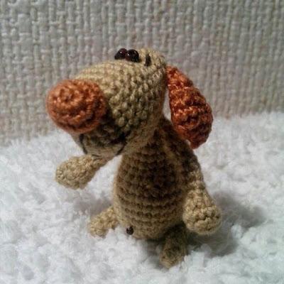 Собака амигуруми игрушка крючком