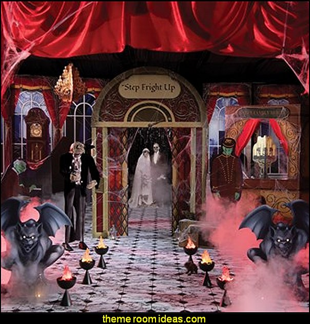 HAUNTED HOTEL THEME KIT halloween party props