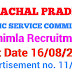 Himachal Pradesh Public Service Commission Advertisement No. 11/2019