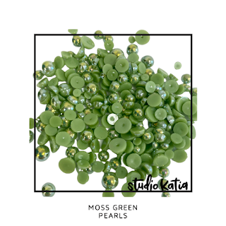 MOSS GREEN PEARLS