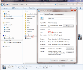2 Cara Menyembunyikan File ke Dalam Gambar