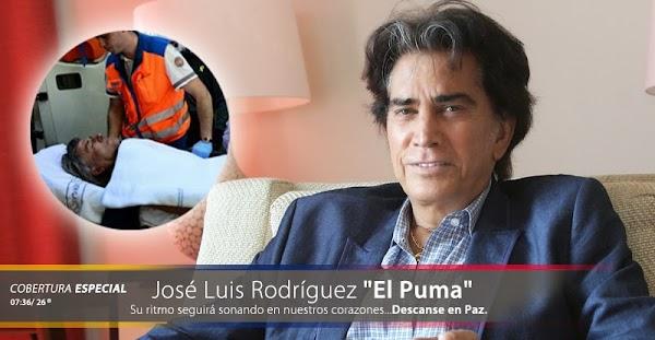 """Vuelven a matar a José Luis Rodríguez """"El Puma"""" en la redes sociales"""