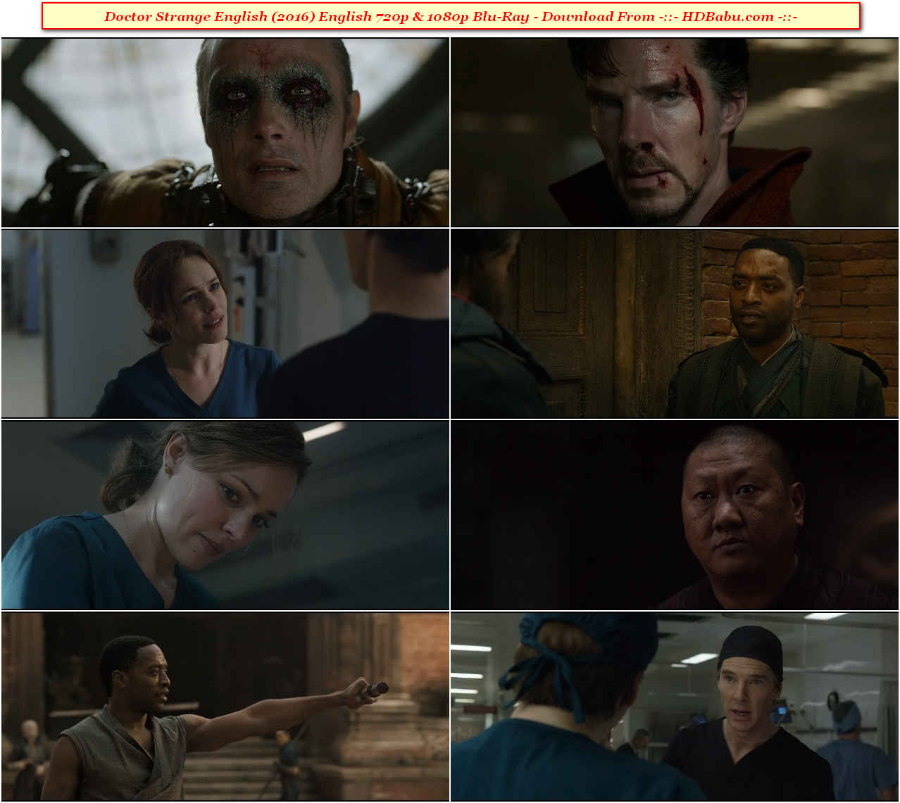Doctor Strange English Full Movie Download