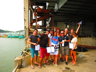 PADI IE in Khao Lak for November 2017 has been successfully completed