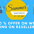 50 % offer on web Hosting on Resellerclub