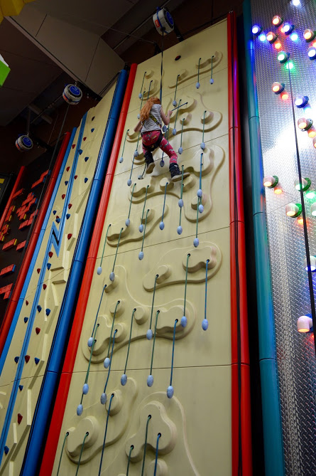 What to do when it rains in North East England | 20+ places to visit with kids - all accessible via public transport - Clip n Climb Concordia