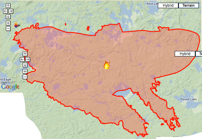 Pagami Creek Fire Map.Piragis Northwoods Company Boundary Waters Blog Pagami Creek Fire