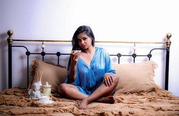 Shalu Shamu cute Dusky tamil actress stunning Photoshoot