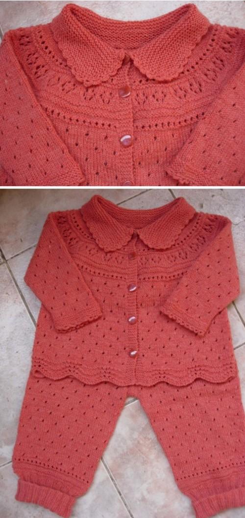 Jacket & Trousers - Free Knitting Pattern