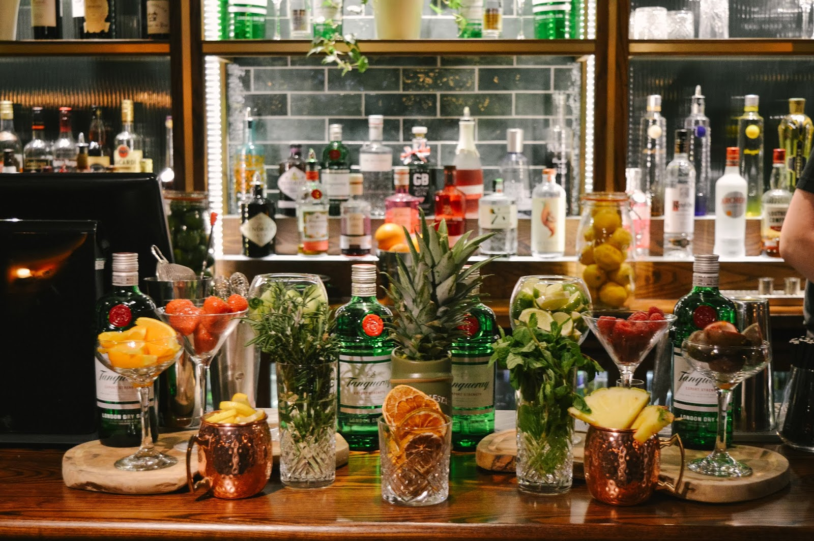 Make Your Own Gin Bar at The Old Forge in Otterbourne