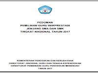 Pedoman Guru Prestasi Jenjang SMA dan SMK Tahun 2017