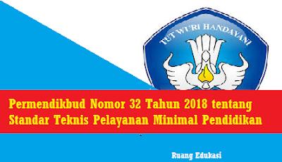 Permendikbud Nomor 32 Tahun 2018