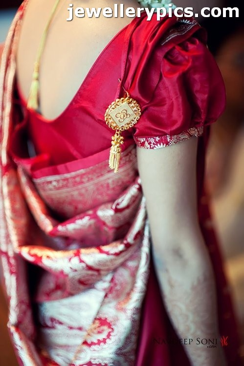 Bengali Style Sari Draping And Traditionally One Would
