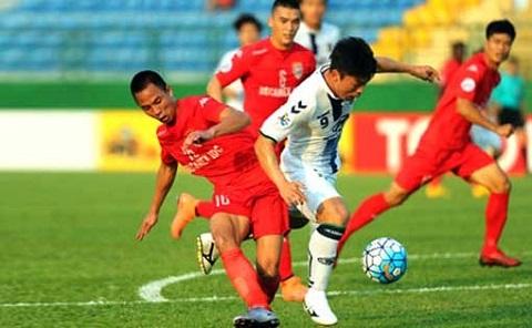 Becamex Bình Dương với chức vô địch V League lần thứ 4