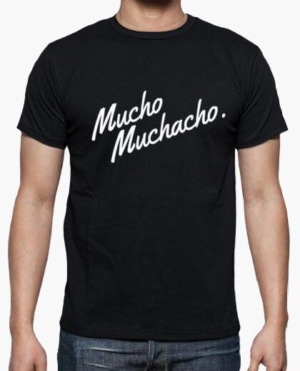Camisetas Hombre - Diseño Mucho Muchacho (blanco)