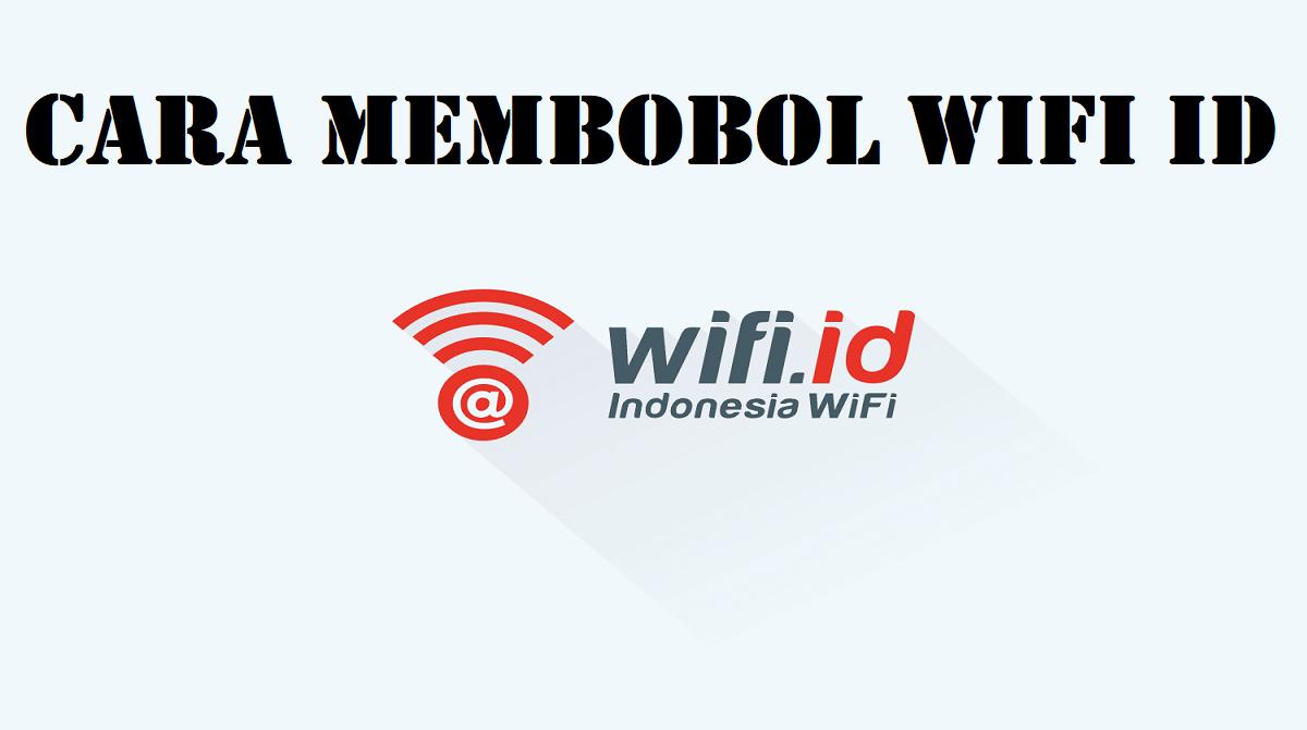 Cara Membobol Wifi ID