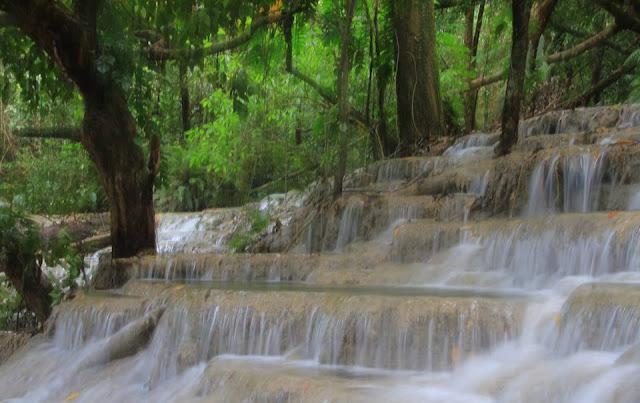 Kaparkan Falls at Tineg Abra also known as Mulawin Falls