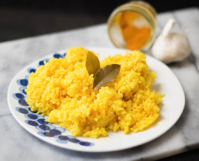 South African Yellow Rice Dish