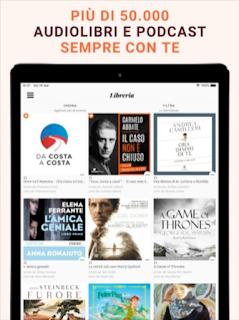 Audiolibri Storytel, l'app si aggiorna alla vers 4.12.7