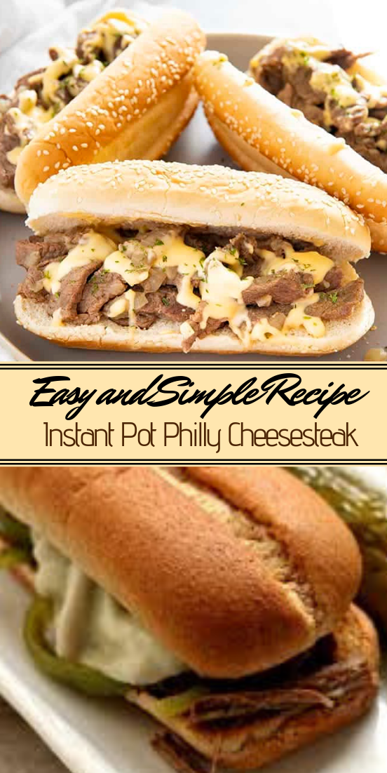 Instant Pot Philly Cheesesteak #dinnerrecipe #food #amazingrecipe #easyrecipe