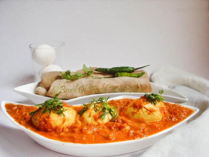 Egg Curry with CashewNut Tomato Recipe