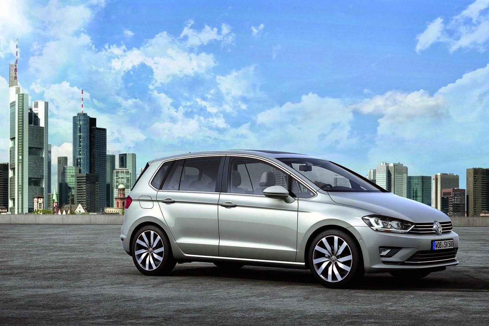 all cars nz 2013 vw golf sportsvan concept. Black Bedroom Furniture Sets. Home Design Ideas