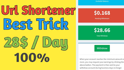 URL shortener unlimited trick | How to increase clicks on link shortener