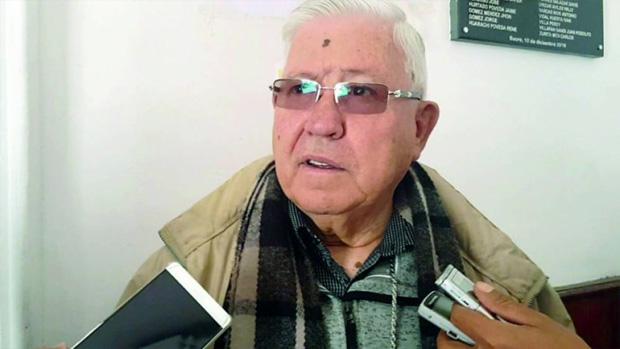 Monseñor Jesús Juarez, arzobispo de Sucre / CORREO DEL SUR