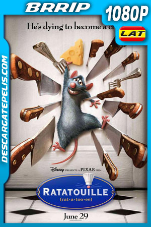 Ratatouille (2007) 1080p BRrip Latino – Ingles