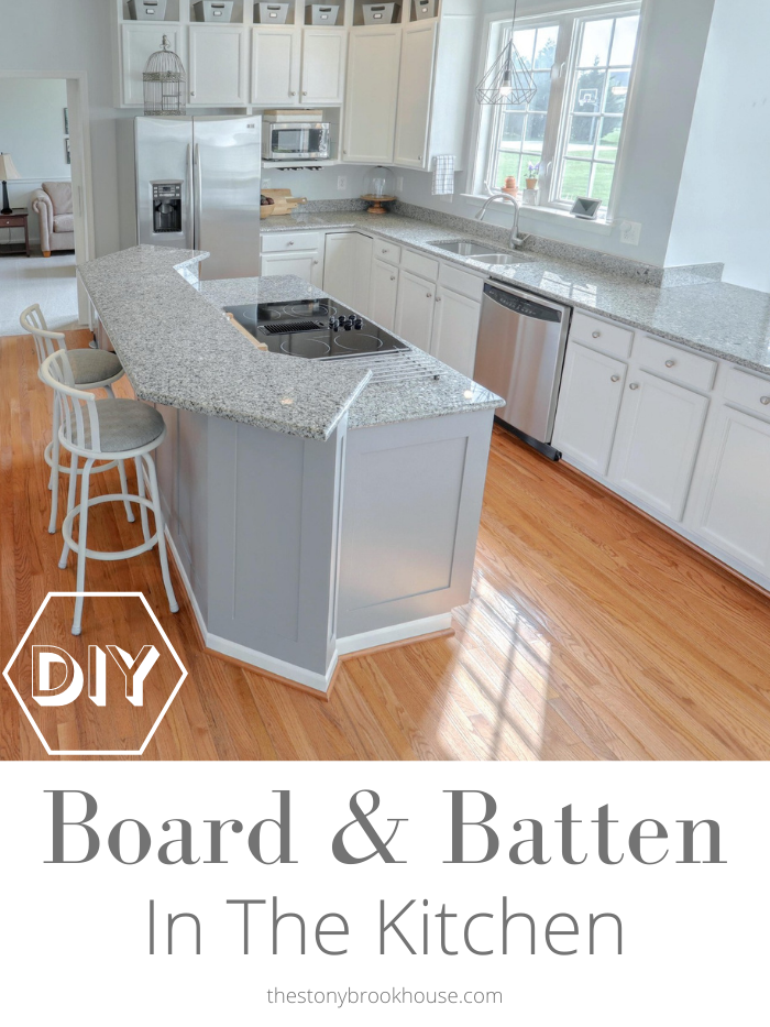 DIY Board & Batten In The Kitchen