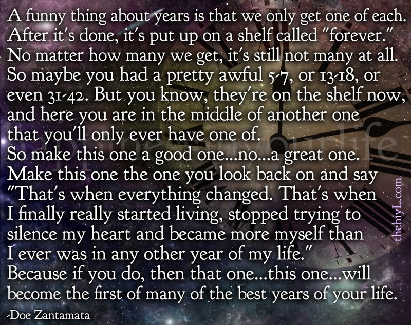 Best years of your life
