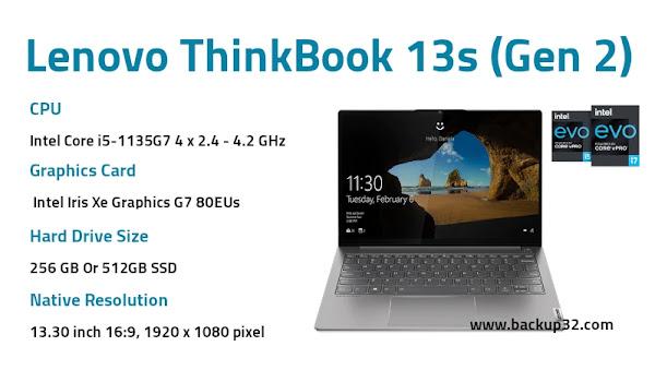 مراجعة لاب توب Lenovo ThinkBook 13s Gen 2
