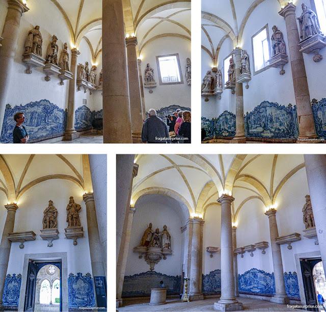 Sala dos Reis, no Mosteiro de Alcobaça, Portugal