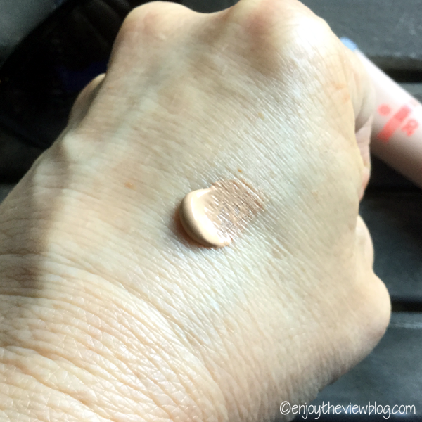 Tarteguard 20 Tinted Moisturizer in Medium on the back of a hand
