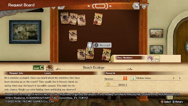 Tablón de anuncios Fairy Tail Videojuego Natsu Lucy Hearthfilia
